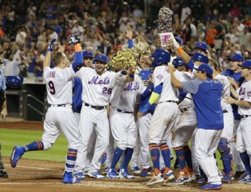 The Mets had Three Walk Off Homers in Six Days….Here they are!