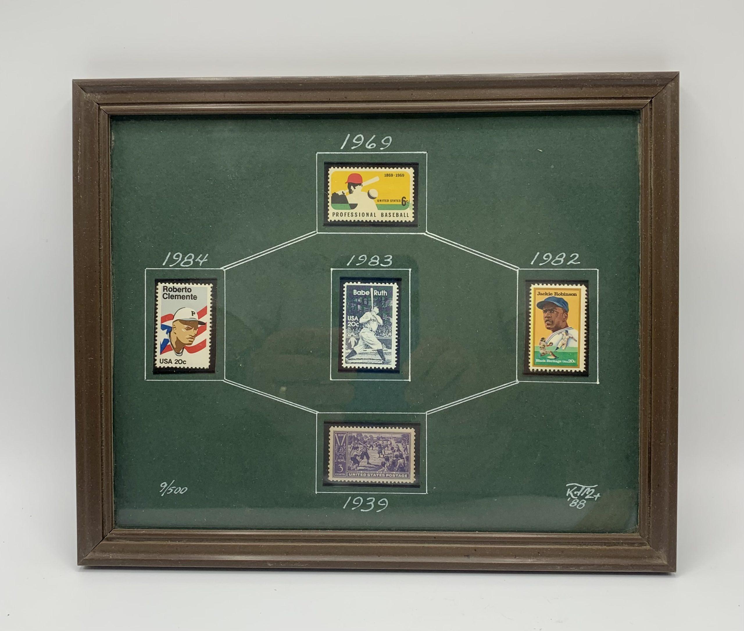 Baseball Postage Stamps