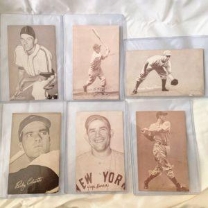 Exhibit Baseball Cards
